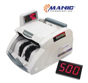 Máy đếm tiền giả MANIC B-9500 chính hãng