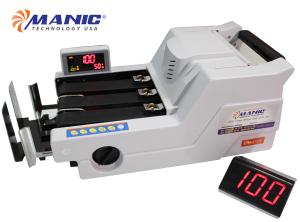Máy đếm tiền phân biệt tiền siêu giả Manic B-6969 chính hãng